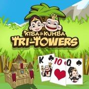 kiba-kumba-tri-towers-solitaire